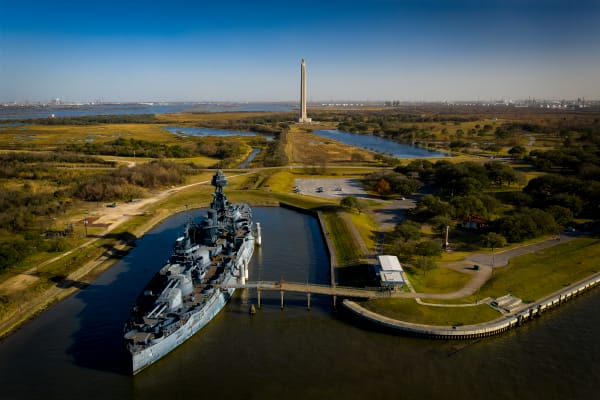 San Jacinto Monument and Battleship Texas