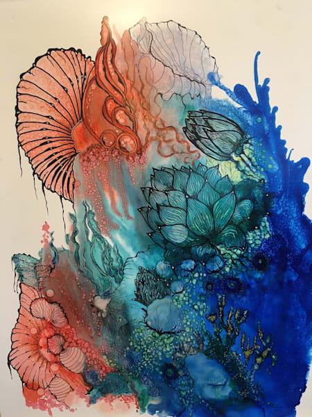 Aquamarine Art   Art With Judy Ann