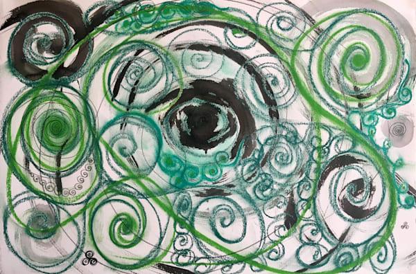 Celtic Spirals Art   larahanson
