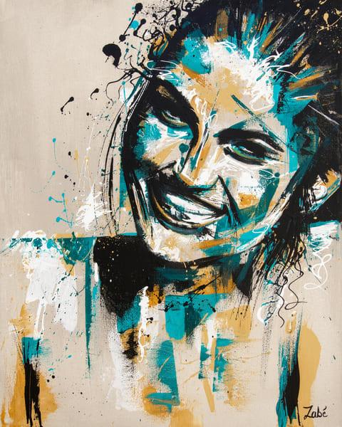 Mint Smile Art   Zabé Arts