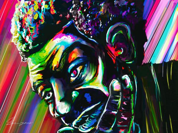 Uncle Gene Got Something To Say Art | Carlos Burgess Arts & Creative Works LLC