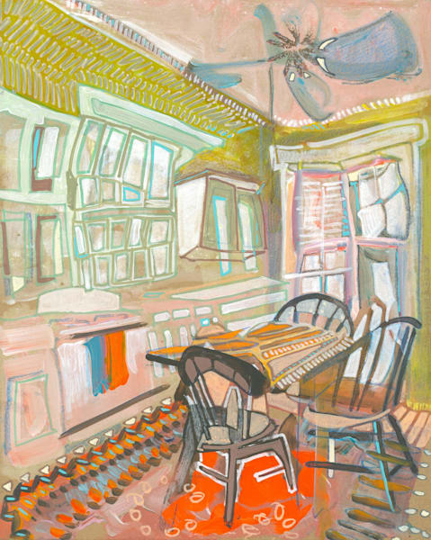 Liberty Hill, Sc No. 01 Art | Erika Stearly, American Artist