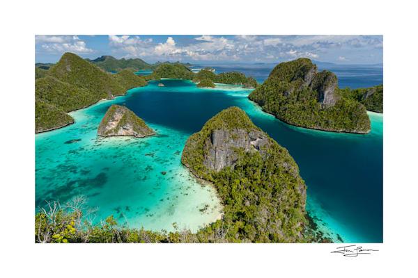 Island Paradise   Wayag Photography Art | Tim Laman