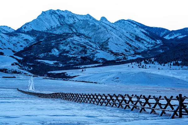 The Wedge With Jack Fence On Right Mo Photography Art | Monty Orr Photography