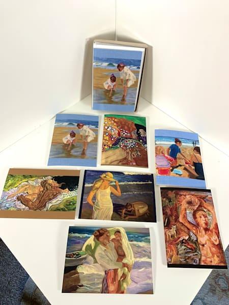 Greeting Card Set Of 7   Figurative Collection Art | Scott Dyer Fine Art