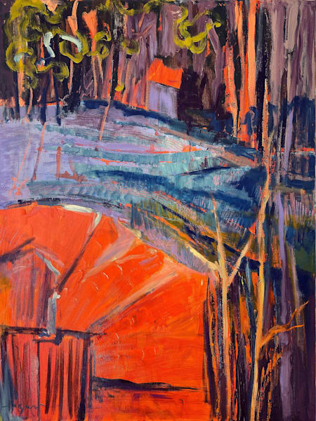 Winter Solstice Iv Art | Dorothy Fagan Joy's Garden
