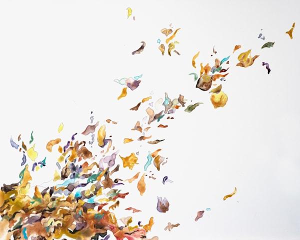 Wind Art Card | Karen Bishop Artist
