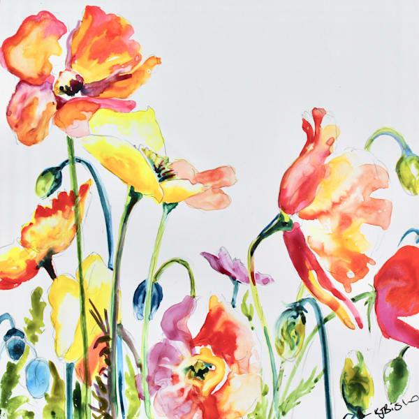 Poppies Art Card