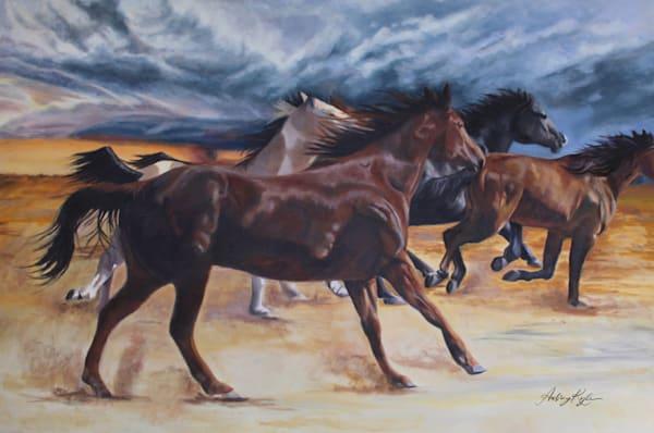 Racing The Wind Art | Aubrey Kyle Creates
