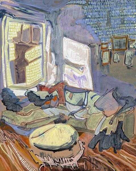 Dani's Home In Hamburg No. 03 /// Sold Art | Erika Stearly, American Artist