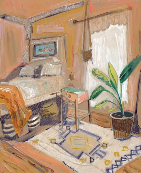 Erin's Home In Vancouver, No. 03 Art | Erika Stearly, American Artist