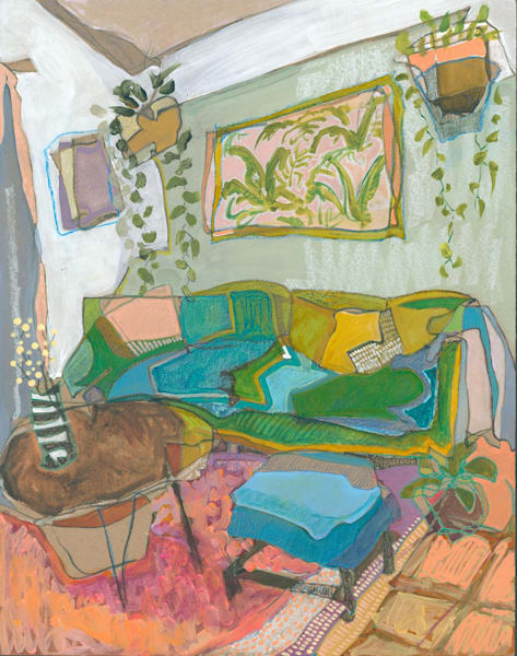Lily's Home In Orlando No. 201 /// Sold Art | Erika Stearly, American Artist