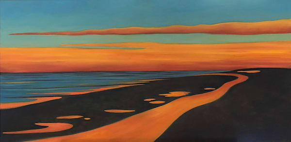 """Pathway Of Light"" Oil On Canvas Art | Margaret Biggs Fine Art"