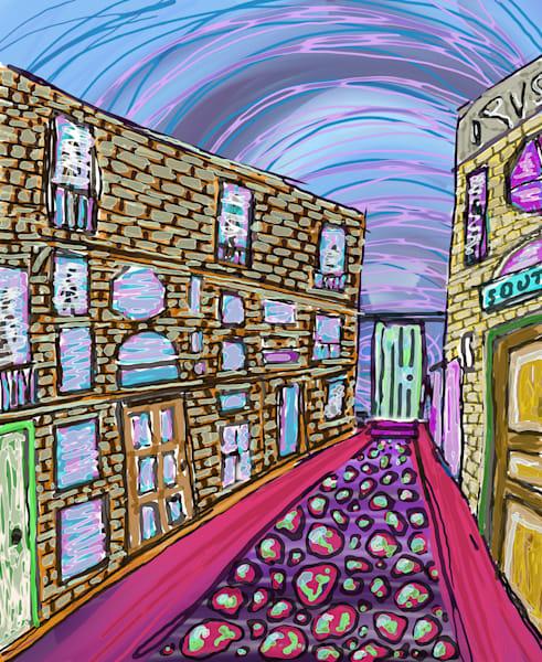 Side Street Art   South 42 Degrees