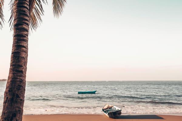 Dominican Fishing Boats Photography Art | Nathan Larson Photography