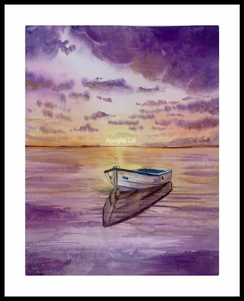 """""""The Halt"""" in watercolors by Aprajita Lal"""