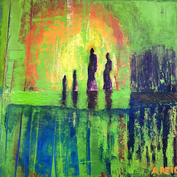 Land Of The Rising Sun Art | Anne Reid Artist