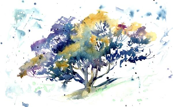 Spirit Tree  Art | Machalarts Watercolor Studio