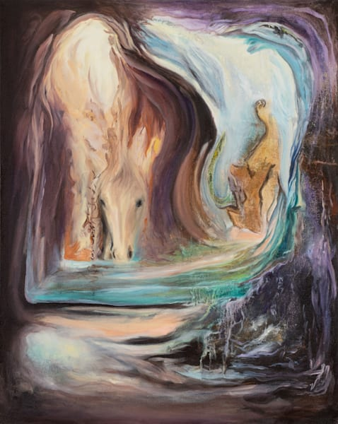 Living Waters   #3 Of 100   The Journey Of 100 Paintings Series Art | Valerieann Giovanni - Fine Art