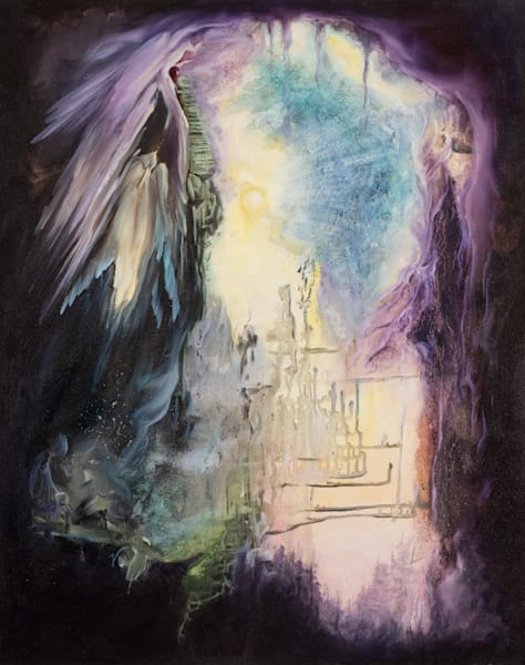 Inner Space   #4 Of 100   The Journey Of 100 Paintings Series Art | Valerieann Giovanni - Fine Art