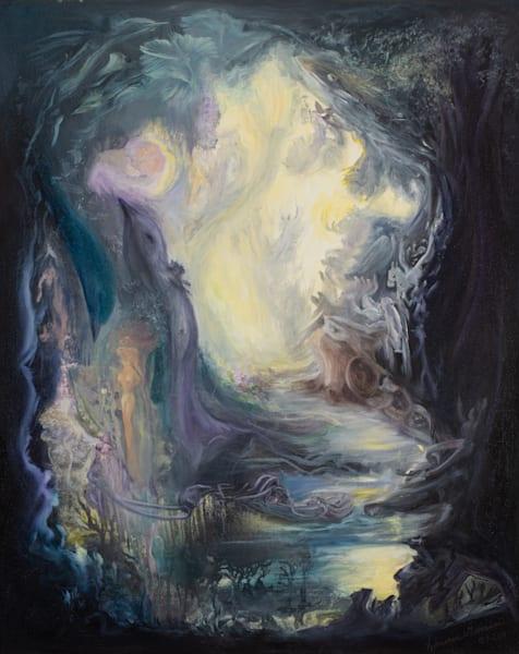 Aliveness   #10 Of 100   The Journey Of 100 Paintings Series Art | Valerieann Giovanni - Fine Art