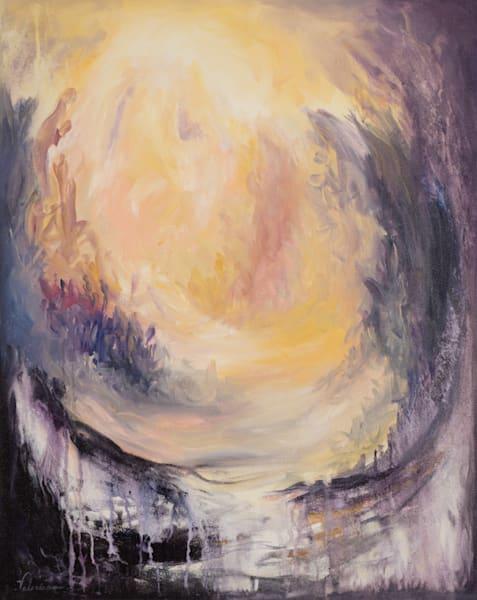 Bridge Builder   #13 Of 100   The Journey Of 100 Paintings Series Art | Valerieann Giovanni - Fine Art