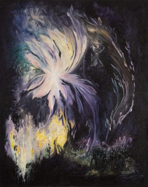 Surrender   #12 Of 100   The Journey Of 100 Paintings Series Art | Valerieann Giovanni - Fine Art