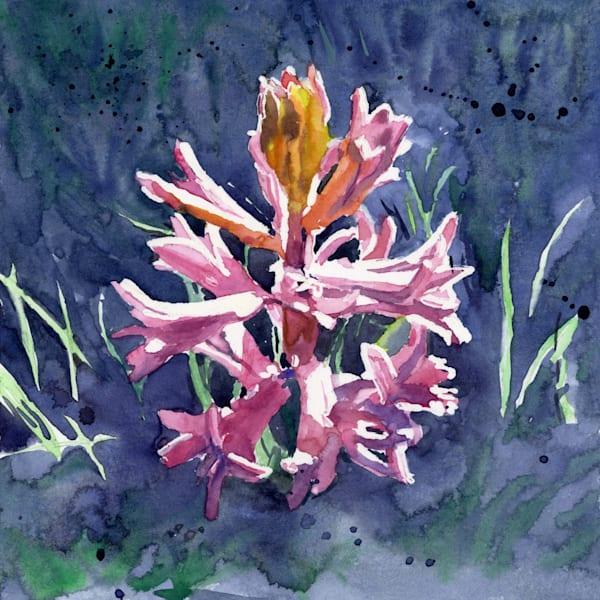 Hyacinth  Art | Machalarts Watercolor Studio