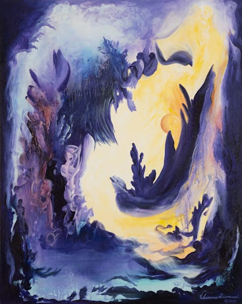 Imagination   #19 Of 100   The Journey Of 100 Paintings Series Art | Valerieann Giovanni - Fine Art