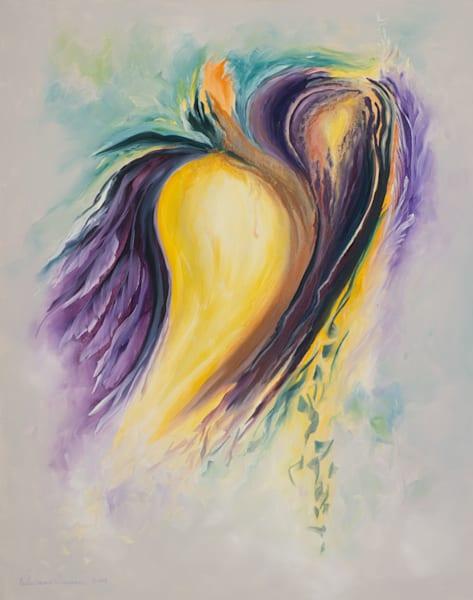 Rebirth   #24 Of 100   The Journey Of 100 Paintings Series Art | Valerieann Giovanni - Fine Art