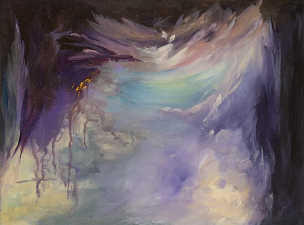 Onward   #30 Of 100   The Journey Of 100 Paintings Series Art | Valerieann Giovanni - Fine Art
