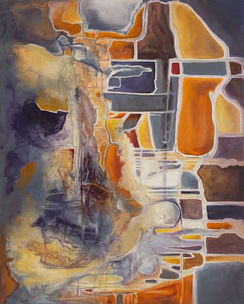 Balance   #40 Of 100   The Journey Of 100 Paintings Series Art | Valerieann Giovanni - Fine Art