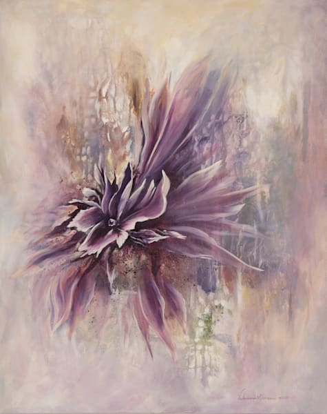 Mystical You   #45 Of 100   The Journey Of 100 Paintings Series Art | Valerieann Giovanni - Fine Art