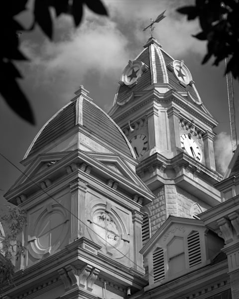 Caldwell County Courthouse, Lockhart, Texas  Photography Art | Rick Gardner Photography