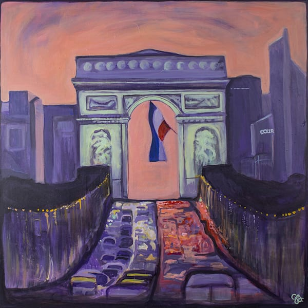 L'arc De Triomphe, Paris Art | RPAC Gallery