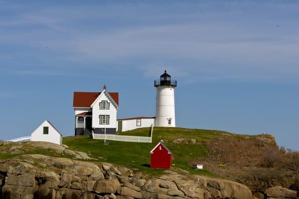 Nubble Cape Neddick Lighthouse Photography Art   Great Wildlife Photos, LLC