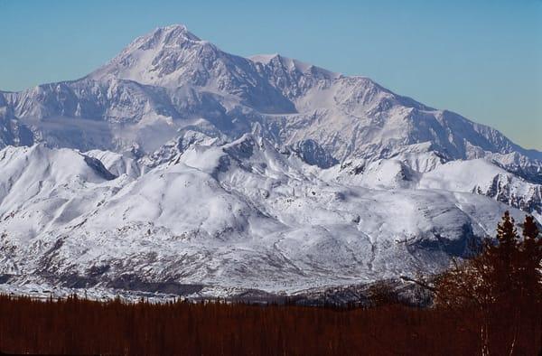 Cloudless Denali Alaska Photography Art | Great Wildlife Photos, LLC
