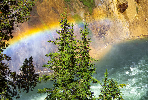 Rainbow Above Flooding River Photography Art   Great Wildlife Photos, LLC