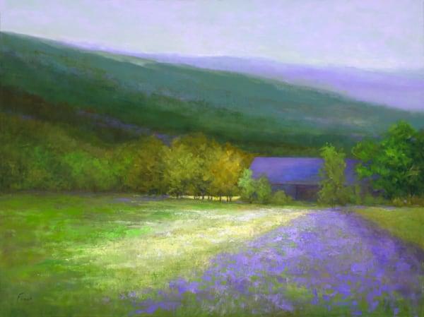 Purple Barn, Half Moon Bay Art | SHEILA FINCH FINE ART