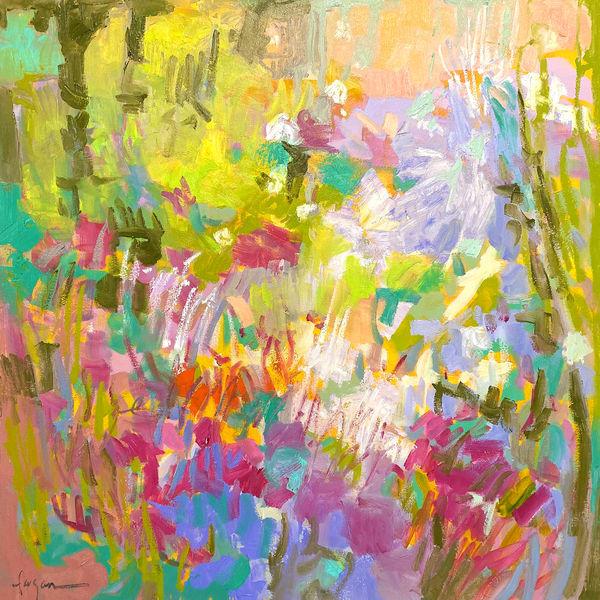 Dancing Art | Dorothy Fagan Joy's Garden