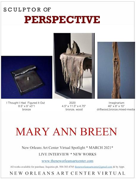 About Artist Mary Ann Breen Art   New Orleans Art Center