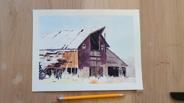 Barn 1 | Steven Dragan Fine Art
