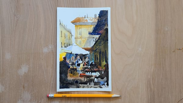 Italy Cafe 4   5x7 | Steven Dragan Fine Art