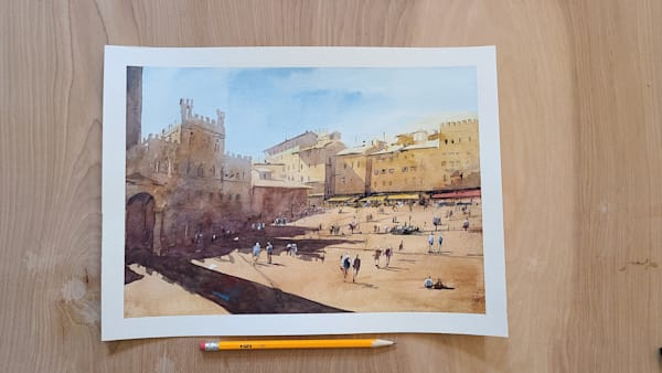 Siena 11x15 | Steven Dragan Fine Art