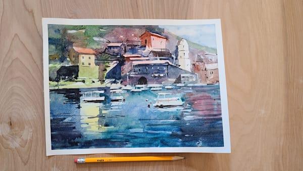 Italian Coastline | Steven Dragan Fine Art