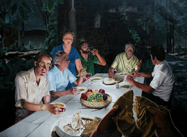 The Last Supper - Original Oil Painting