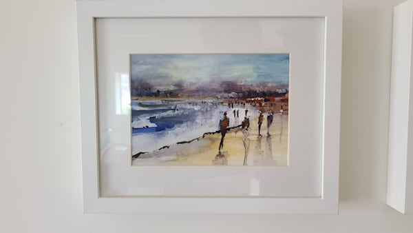 Beach Walk 5x7   Steven Dragan Fine Art