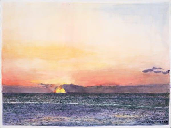 Red Sunset In Kauai Art | CruzArtz Fine Arts