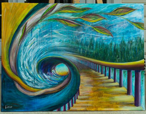 The Path New Original Art | Limor Dekel Fine Art