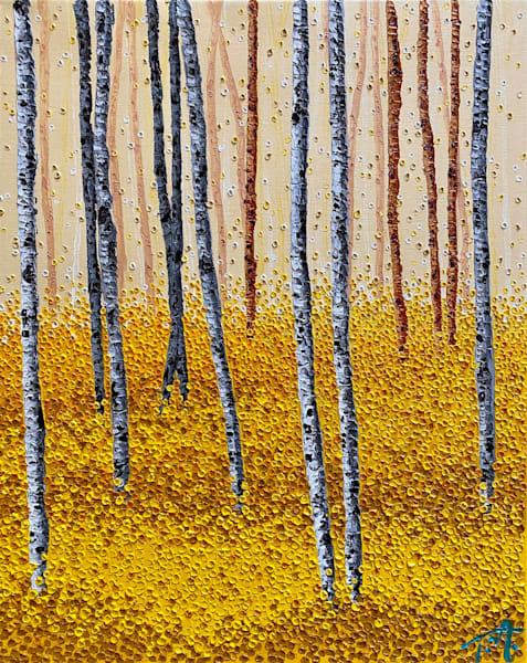In The Ochre   Original Oil Painting Art   Tessa Nicole Art